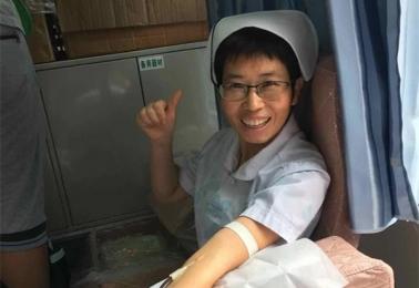 捐献热血分享生命 救死扶伤天使情怀
