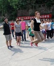 学生趣味运动会