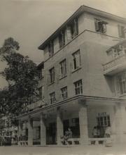 60年代初期迁至永川后的住院部大楼