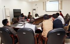 我院2014年度重庆市科委前沿与应用基础研究计划一般项目院内评审顺利完成