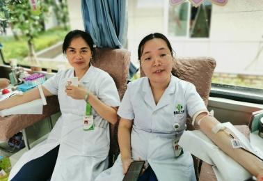 【医心为您】重医大365bet组织2019年夏季无偿献血活动