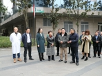 西藏拉萨市领导一行到我院考察医疗体制改革工作