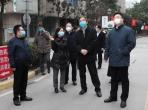 重庆市卫生健康委党委书记黄明会到我院巡查疫情防控工作情况