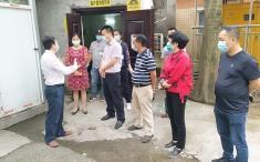 重庆市生态环境局到我院督查医疗废物、废水处置情况