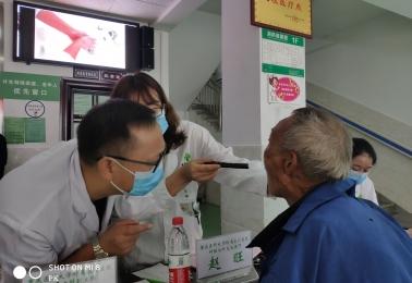 重医大永川医院扶贫工作队赴酉阳县车田乡、两罾乡义诊