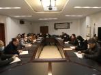 院党委召开中心组学习扩大会专题学习习总书记新年贺词